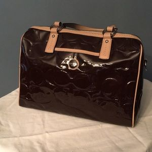 COACH Patent Leather Tote 👜